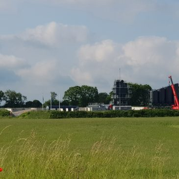 Nya asfaltverket snart på plats